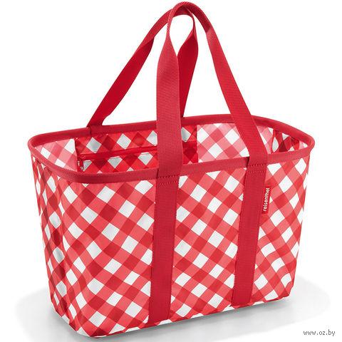 "Корзина складная ""Mini maxi basket"" (square red)"
