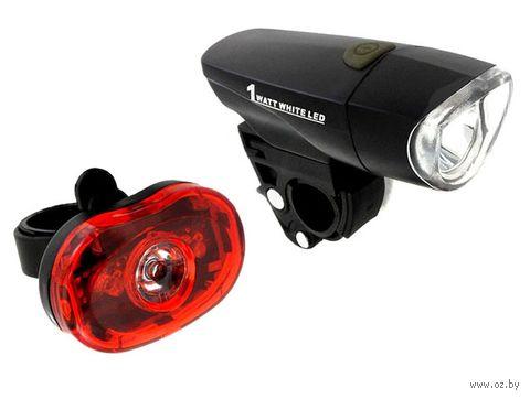 """Комплект фонарей для велосипеда """"HW XC-785 + XC-305L"""" — фото, картинка"""