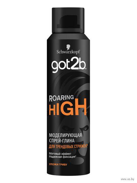 """Спрей-глина для укладки волос """"Roaring High"""" сверхсильной фиксации (150 мл) — фото, картинка"""