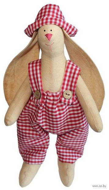 "Набор для шитья из ткани ""Кукла. Зайка Тимошка"" — фото, картинка"
