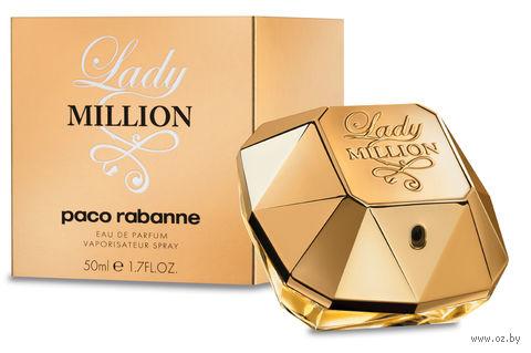 "Парфюмерная вода для женщин Paco Rabanne ""Lady Million"" (50 мл) — фото, картинка"