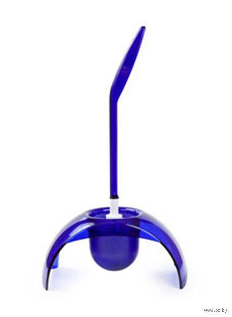 "Ершик для туалета на подставке ""Joli"" (синий полупрозрачный) — фото, картинка"