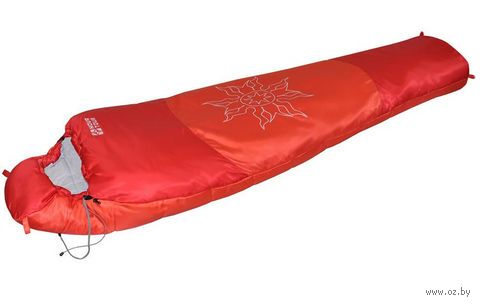 """Спальный мешок """"Ямал XL v.2"""" (правый; красный) — фото, картинка"""