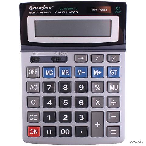 """Калькулятор настольный """"Darvish"""" (12 разрядов; арт. DV-8850M-12) — фото, картинка"""