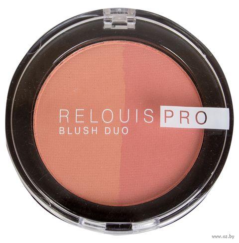 "Румяна ""Relouis Pro Blush Duo"" (тон: 201) — фото, картинка"