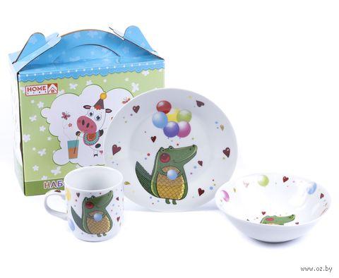 Набор для завтрака (3 предмета; арт. LX-3PCS-C506) — фото, картинка
