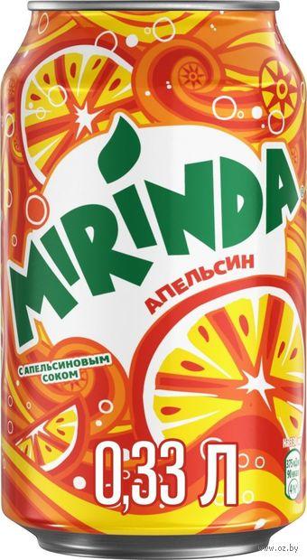"""Напиток газированный """"Миринда. Апельсин"""" (330 мл) — фото, картинка"""