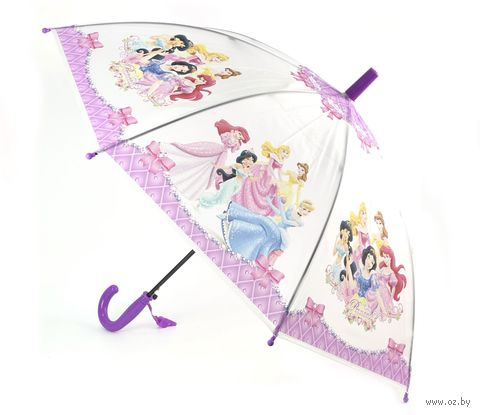 """Зонт-трость """"Принцесса"""" (арт. JZ002) — фото, картинка"""