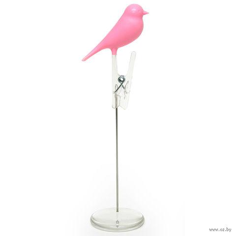 """Держатель для записок """"Sparrow"""" (розовый)"""
