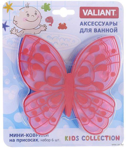 "Набор игрушек для купания ""Бабочка"" (6 шт.) — фото, картинка"