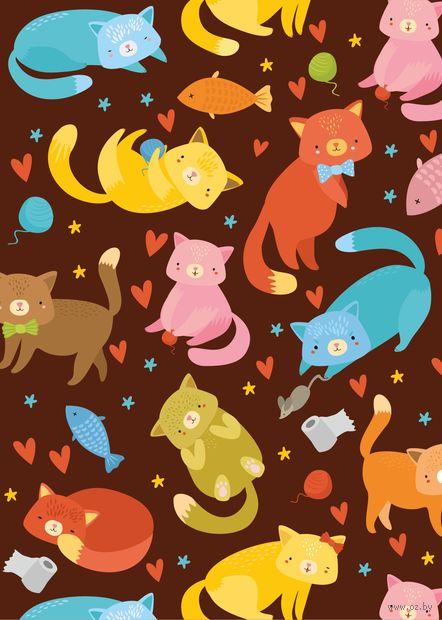 """Открытка """"Милые котики"""" — фото, картинка"""