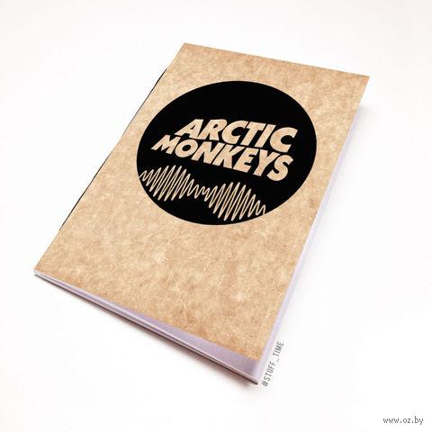 "Блокнот крафт ""Arctic Monkeys"" А6 (065)"
