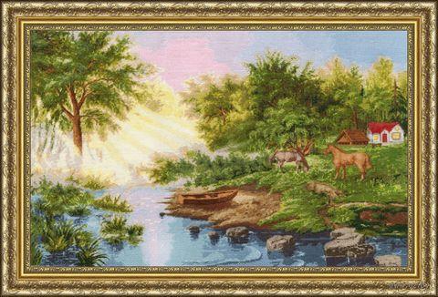 """Вышивка крестом """"Солнечные лучи"""" (345х560 мм) — фото, картинка"""
