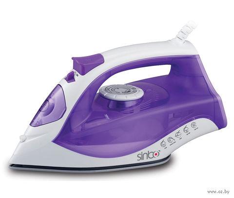 Утюг Sinbo SSI 6618 (фиолетово-белый) — фото, картинка