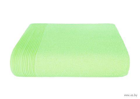 "Полотенце махровое ""Палитра"" (50х90 см; светло-зеленое) — фото, картинка"