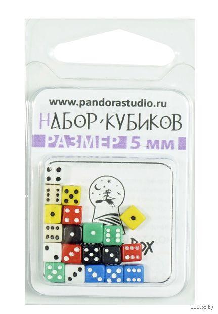 """Набор кубиков D6 """"Нано-кубик"""" (5 мм; 20 шт.) — фото, картинка"""