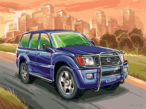 """Картина по номерам """"Toyota Land Cruiser"""" (300х400 мм) — фото, картинка"""