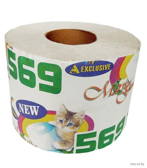 """Туалетная бумага """"М-569"""" (1 рулон) — фото, картинка"""