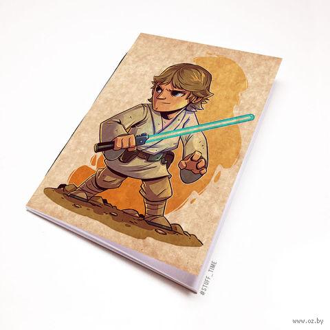 """Блокнот крафт """"Звездные войны"""" (А5; арт. 895)"""