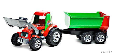 """Модель машины """"Bruder. Трактор с прицепом Roadmax"""" — фото, картинка"""
