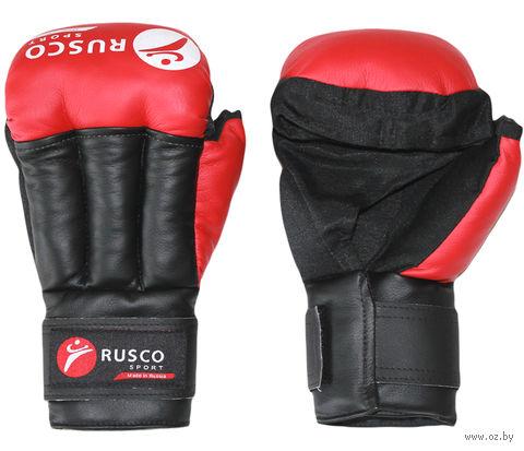Перчатки для рукопашного боя (6 унций; красные) — фото, картинка