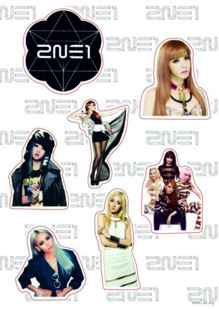 "Набор наклеек №217 ""2NE1"" — фото, картинка"