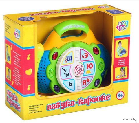 "Развивающая игрушка ""Азбука. Караоке"""