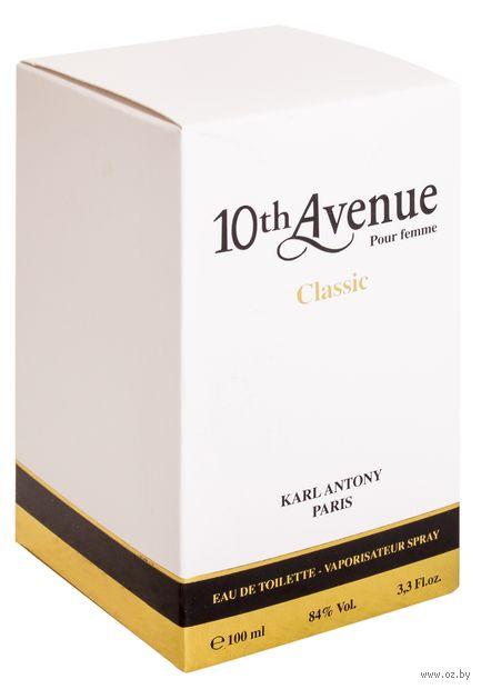 """Туалетная вода для женщин """"10th Avenue. Classic"""" (100 мл) — фото, картинка"""