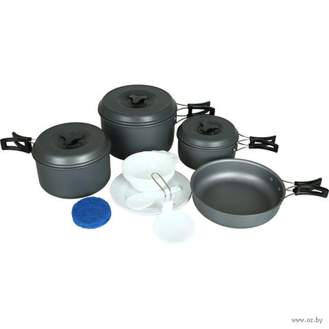 Набор посуды (3 кастрюли, 1 сковородка)