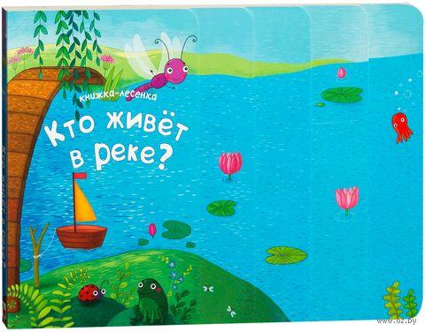 Кто живет в реке? Книжка-лесенка. М. Романова, В. Вилюнова, Наталья Магай