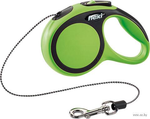 """Поводок-рулетка """"New Comfort"""" (до 8 кг; зеленый) — фото, картинка"""