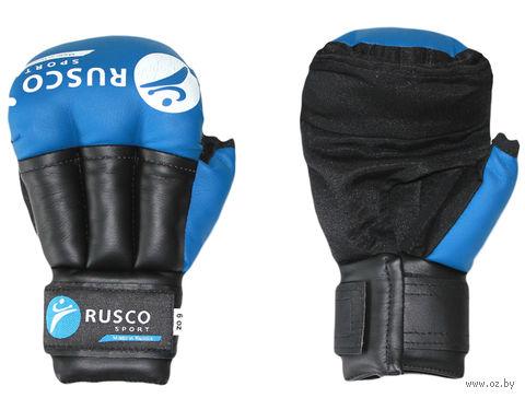 Перчатки для рукопашного боя (8 унций; синие) — фото, картинка