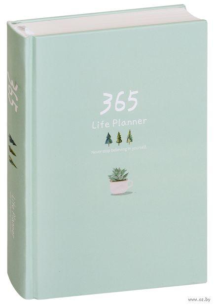 """Ежедневник недатированный """"365"""" (А5; мятный) — фото, картинка"""