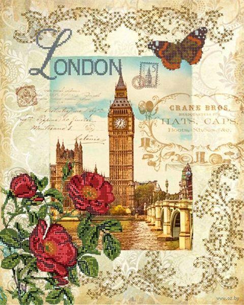 "Вышивка бисером ""Вокруг света. Лондон"" (400х320 мм) — фото, картинка"