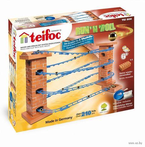 """Конструктор """"Teifoc. Серпантин"""" (210 деталей) — фото, картинка"""