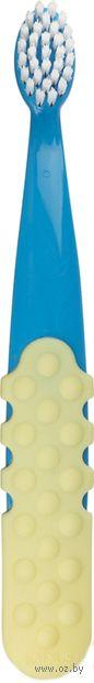 """Детская зубная щетка """"Totz Plus. Сине-желтая"""" (очень мягкая) — фото, картинка"""