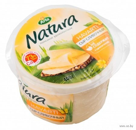 """Сыр сливочный """"Arla Natura"""" (400 г) — фото, картинка"""