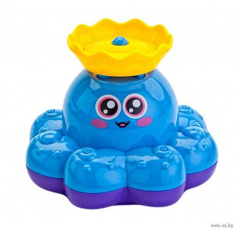 """Игрушка для купания """"Фонтан-Осьминожка"""" (голубой) — фото, картинка"""