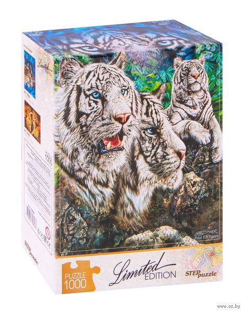 "Пазл ""Найди 13 тигров"" (1000 элементов) — фото, картинка"