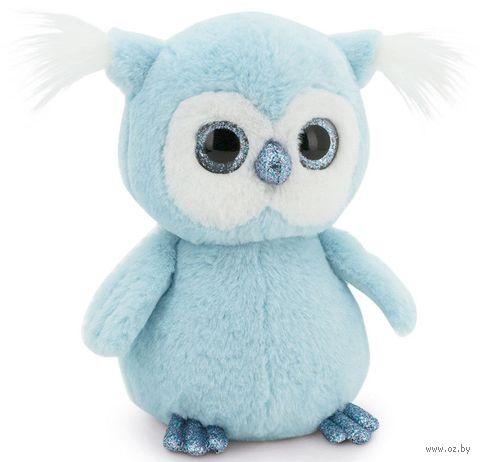 """Мягкая игрушка """"Пушистик. Совёнок"""" (22 см; голубой) — фото, картинка"""