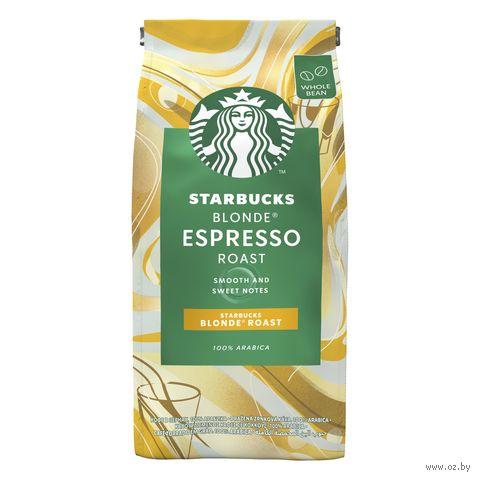 """Кофе зерновой """"Starbucks. Blonde Espresso Roast"""" (200 г) — фото, картинка"""