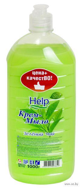 """Жидкое крем-мыло """"Зеленый чай"""" (1000 г) — фото, картинка"""