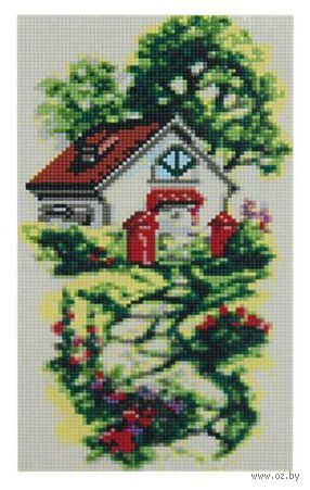 """Алмазная вышивка-мозаика """"Дорожка к дому"""" (190х340 мм) — фото, картинка"""
