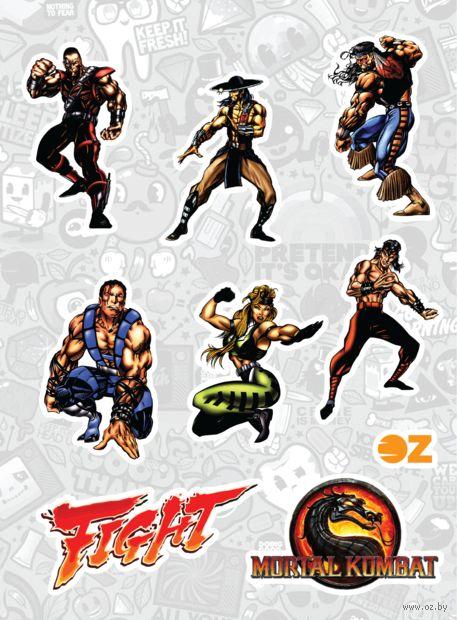 "Набор наклеек ""Mortal Kombat"" — фото, картинка"