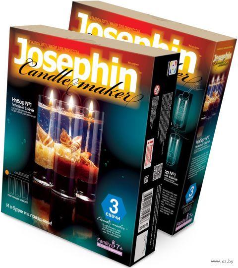 """Набор для изготовления свечей """"Гелевые свечи с ракушками"""" (арт. 274011) — фото, картинка"""