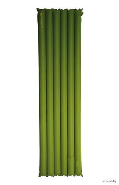 "Коврик самонадувающийся ""Tube"" (зелёный) — фото, картинка"