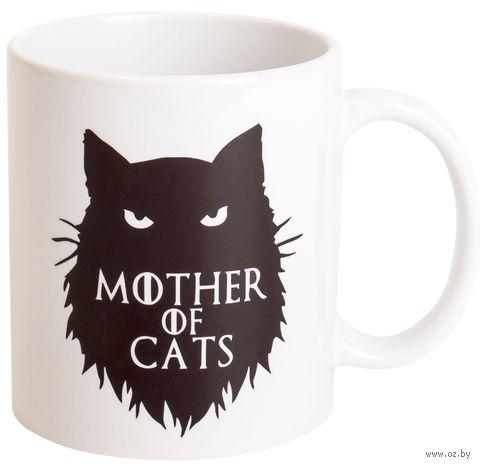 """Кружка """"Мать котов"""" (белая) — фото, картинка"""