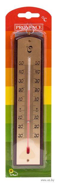 Термометр комнатный в деревянном корпусе (арт. 410016) — фото, картинка