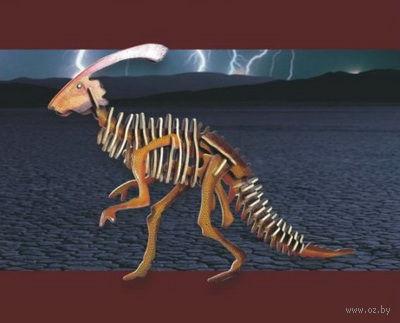 """Сборная деревянная модель """"Паразавролоф"""" (паразавролофус) — фото, картинка"""