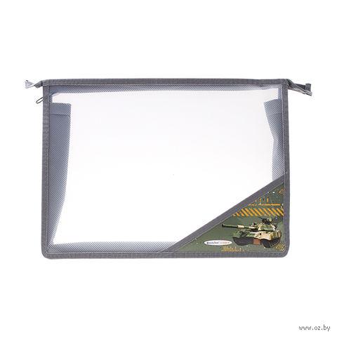 """Папка для тетрадей """"Танк"""" (А4; арт. DV-2696-04; в ассортименте) — фото, картинка"""